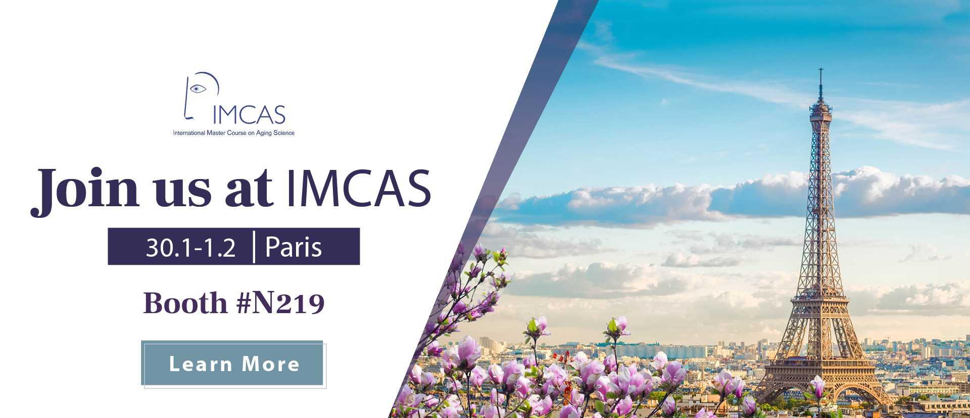 Join Alma at IMCAS Paris 2020